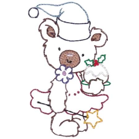 Christmas Bears Vintage Stitch 8