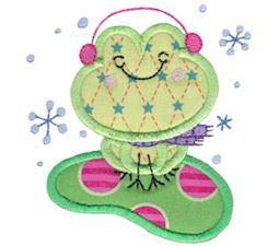 Christmas Critters Applique 7