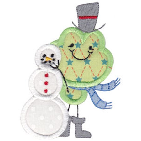 Christmas Critters Applique 8
