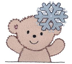 Christmas Cuddle Bear 1