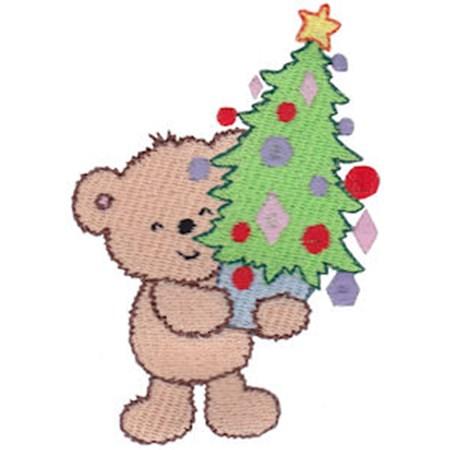 Christmas Cuddle Bear 17
