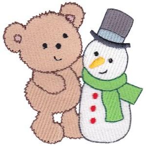 Christmas Cuddle Bear 20