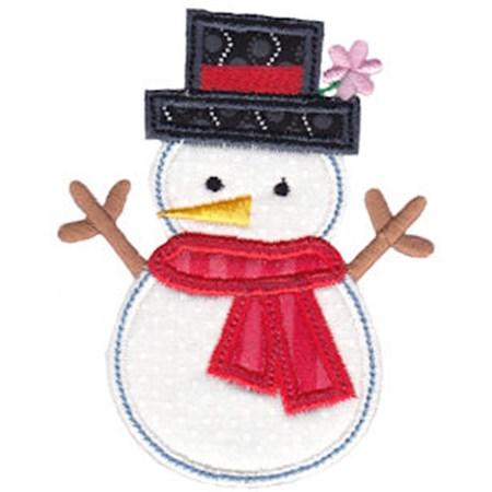 Christmas Melody Applique 14