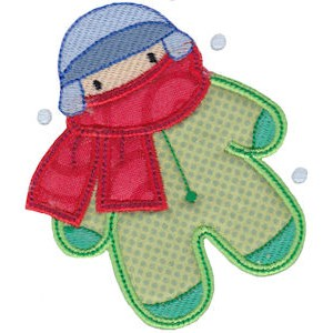 Christmas Melody Applique 15