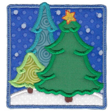 Christmas Melody Applique 20