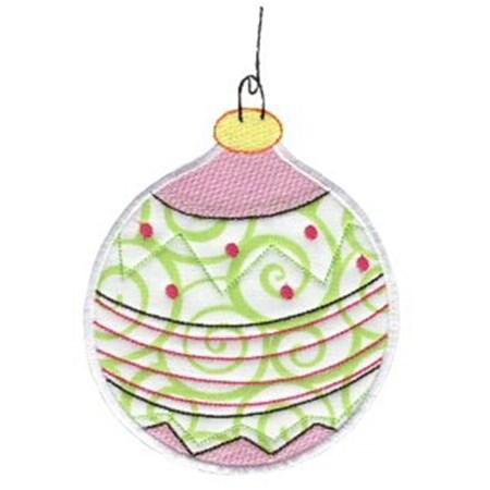 Christmas Ornaments Applique 11