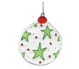 Christmas Ornaments Applique 2