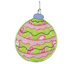 Christmas Ornaments Applique 3