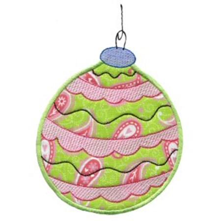 Christmas Ornaments Applique 3