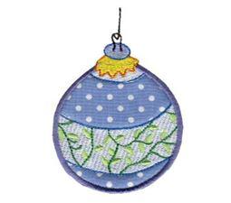 Christmas Ornaments Applique 8