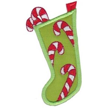 Christmas Stockings Applique 1