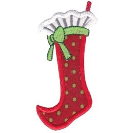 Christmas Stockings Applique 12