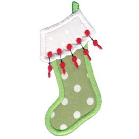 Christmas Stockings Applique 2