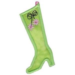 Christmas Stockings Applique 3
