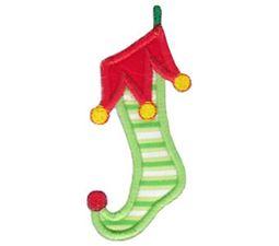 Christmas Stockings Applique 4