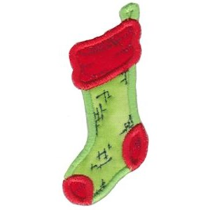 Christmas Stockings Applique 5