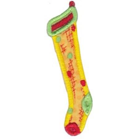 Christmas Stockings Applique 7