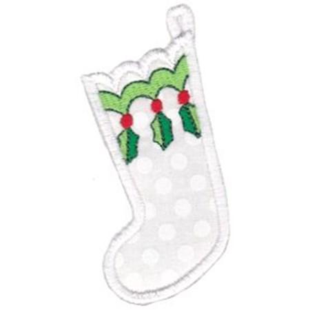 Christmas Stockings Applique 8