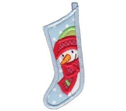 Christmas Stockings Applique 9