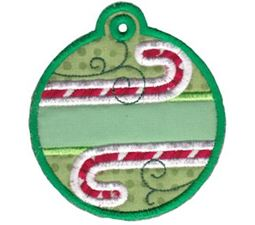 Christmas Tags Applique 1