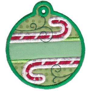Christmas Tags Applique 1