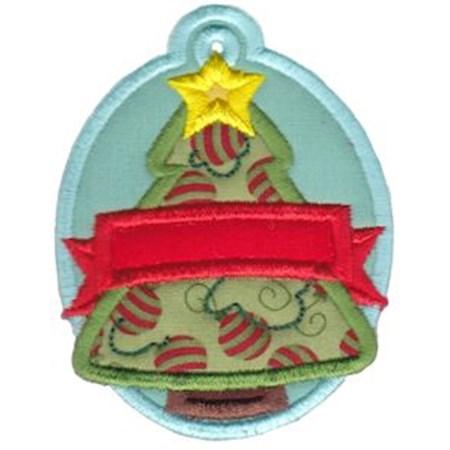 Christmas Tags Applique 11