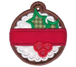 Christmas Tags Applique 5