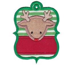 Christmas Tags Applique 7