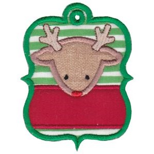 Christmas Tags Applique 7