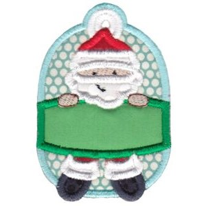 Christmas Tags Applique 8