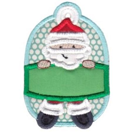 Christmas Tags Applique 8