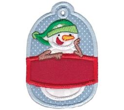 Christmas Tags Applique 9