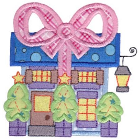 Christmas Village Applique 10