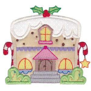 Christmas Village Applique 2