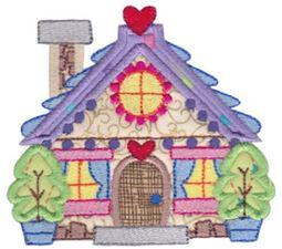 Christmas Village Applique 3