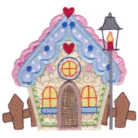 Christmas Village Applique 5