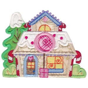 Christmas Village Applique 6