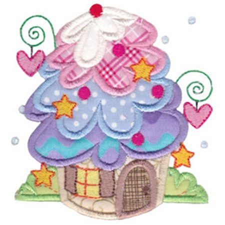 Christmas Village Applique 7