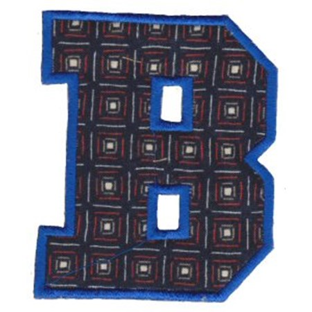College Greek Alphabet Applique 2
