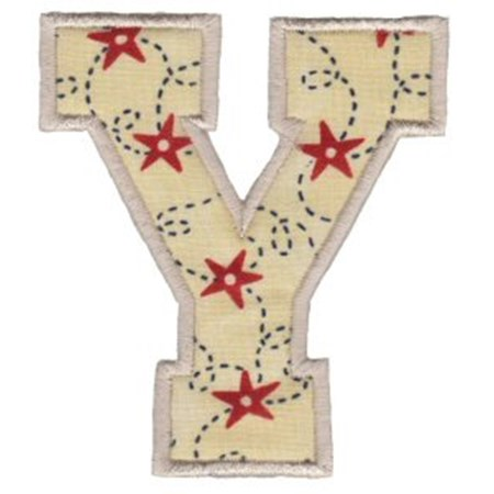 College Greek Alphabet Applique 20