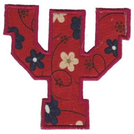 College Greek Alphabet Applique 23