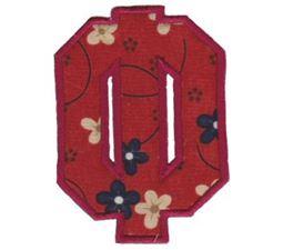 College Greek Alphabet Applique 6