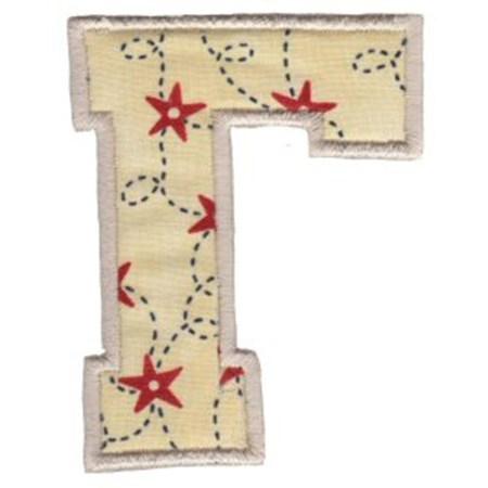 College Greek Alphabet Applique 7