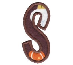 Comic Alphabet Applique Lower Case s
