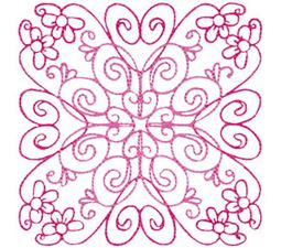 Country Flowers Quilt Blocks 1