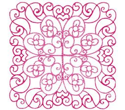 Country Flowers Quilt Blocks 9