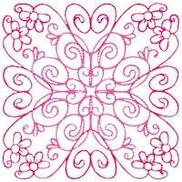 Country Flowers Quilt Blocks