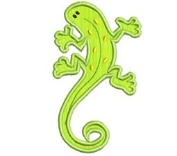 Crazy Lizards Applique 5