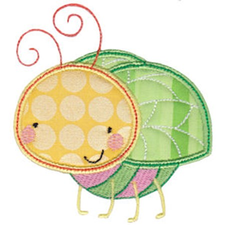 Cuddle Bug Applique 11