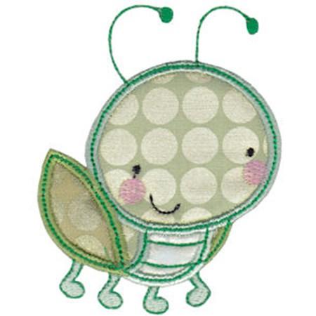 Cuddle Bug Applique 6